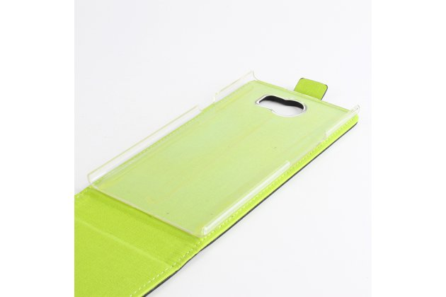 Фирменный оригинальный вертикальный откидной чехол-флип для BlackBerry Priv белый из натуральной кожи Prestige