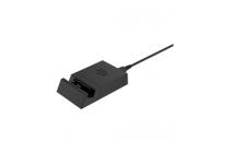 Фирменное зарядное устройство/док-станция/подставка для BlackBerry Priv пластиковая черная