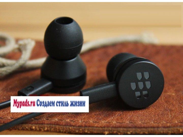 Фирменные оригинальные наушники-вкладыши BlackBerry Q20 Classic с микрофоном и переключателем песен ..