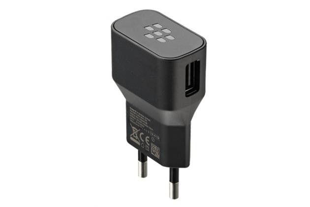 Фирменное оригинальное зарядное устройство от сети для телефона BlackBerry Q20 Classic + гарантия
