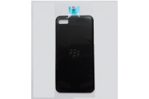 Родная оригинальная задняя крышка-панель которая шла в комплекте для Blackberry Z10 / BlackBerry Porsche Design P'9982 черная