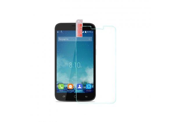 Фирменное защитное закалённое противоударное стекло премиум-класса из качественного японского материала с олеофобным покрытием для телефона Blackview A5