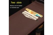 Фирменный вертикальный откидной чехол-флип для Blackview A5 Эйфелева башня коричневый