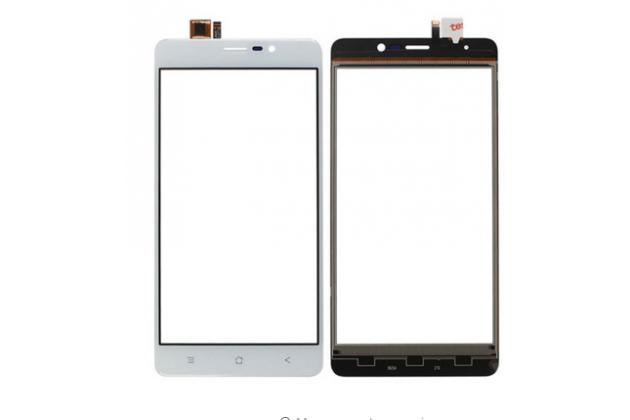 Фирменное сенсорное стекло-тачскрин на  Blackview A8 Max белый и инструменты для вскрытия + гарантия