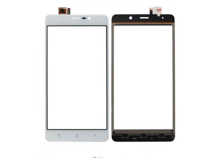 Фирменное сенсорное стекло-тачскрин на  Blackview A8 Max черный и инструменты для вскрытия + гарантия..