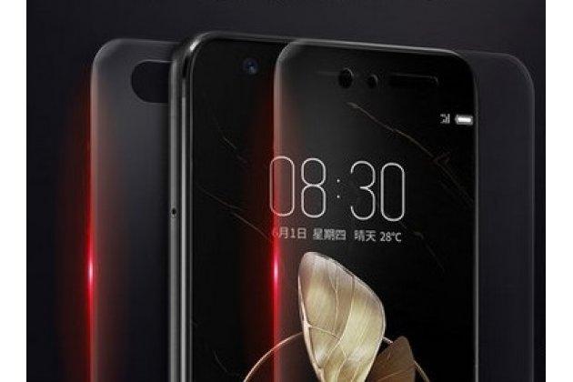 Фирменная оригинальная 3D защитная пленка с закругленными краями которое полностью закрывает экран для телефона Blackview A8 глянцевая
