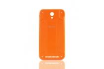 Родная оригинальная задняя крышка-панель которая шла в комплекте для Blackview BV5000 оранжевая