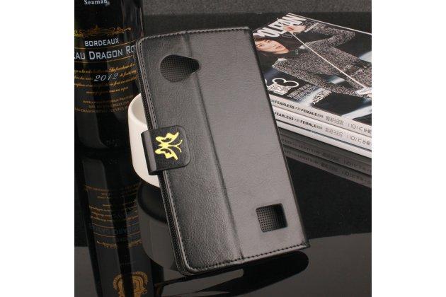 Фирменный уникальный необычный чехол-подставка для Blackview BV6000  тематика Золотое Цветение