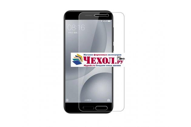 Фирменная оригинальная защитная пленка для телефона Xiaomi Mi 5C глянцевая