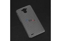 Фирменная ультра-тонкая пластиковая задняя панель-чехол-накладка для Blackview R6 Lite серая