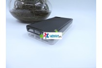 Фирменная ультра-тонкая полимерная из мягкого качественного силикона задняя панель-чехол-накладка для BQ Aquaris M4.5/16GB 1GB RAM/16GB 2GB RAM/8GB черная