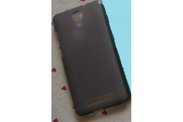 Фирменная ультра-тонкая полимерная из мягкого качественного силикона задняя панель-чехол-накладка для BQ Aquaris M5.5/16GB 2GB RAM/16GB 3GB RAM/32GB 3GB RAM черная