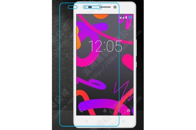 Фирменное защитное закалённое противоударное стекло для телефона BQ Aquaris M5.5/16GB 2GB RAM/16GB 3GB RAM/32GB 3GB RAM из качественного японского материала премиум-класса с олеофобным покрытием