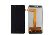 Фирменный LCD-ЖК-сенсорный дисплей-экран-стекло с тачскрином на телефон BQ Aquaris U Plus черный + гарантия