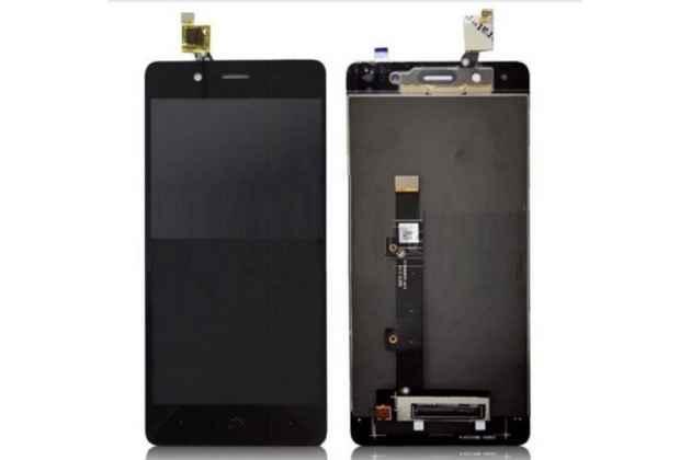 Фирменный LCD-ЖК-сенсорный дисплей-экран-стекло с тачскрином на телефон BQ Aquaris X5 Plus/BQ Aquaris X5 Plus 16Gb/BQ Aquaris X5 Plus 32Gb черный + гарантия