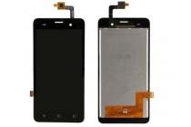 Фирменный LCD-ЖК-сенсорный дисплей-экран-стекло с тачскрином на телефон BQ BQS-5020 Strike / BQ Mobile BQS-5020 Strike черный + гарантия