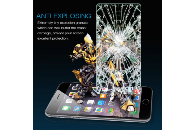 Фирменное защитное закалённое противоударное стекло премиум-класса из качественного японского материала с олеофобным покрытием для телефона BQ Mobile BQS-5070 Magic