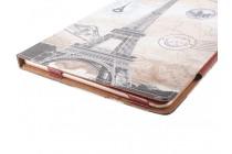 Фирменный чехол-обложка с безумно красивым расписным рисунком Париж для планшета CHUWI Hi12 кожаный