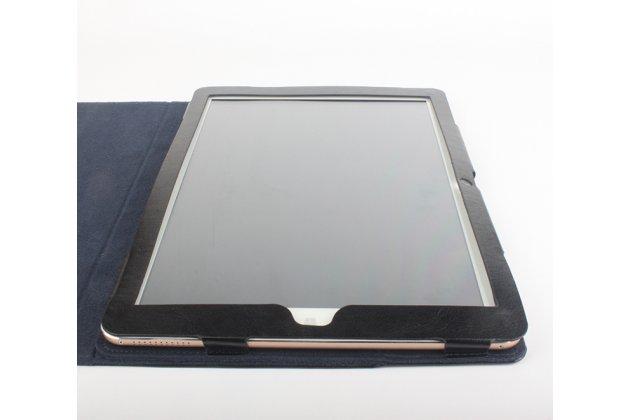 Фирменный оригинальный чехол обложка с подставкой для CHUWI Hi12 черный кожаный