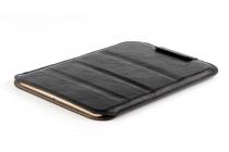 Фирменный оригинальный клатч-сумка с подставкой для Cube T8 Ultimate / T8 Plus черный из качественной импортной кожи