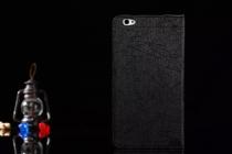 Фирменный чехол закрытого типа с красивым узором для планшета Cube T8 Ultimate / T8 Plus  с держателем для руки черный натуральная кожа  Италия