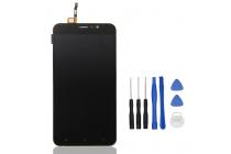 Фирменный LCD-ЖК-сенсорный дисплей-экран-стекло с тачскрином на телефон CUBOT Dinosaur черный + гарантия