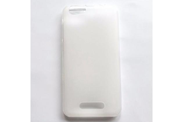 Фирменная ультра-тонкая полимерная из мягкого качественного силикона задняя панель-чехол-накладка для CUBOT Dinosaur белая