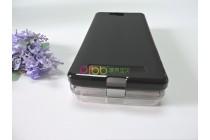 Фирменная ультра-тонкая полимерная из мягкого качественного силикона задняя панель-чехол-накладка для CUBOT H2 черная