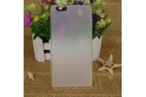 Фирменная ультра-тонкая полимерная из мягкого качественного силикона задняя панель-чехол-накладка для CUBOT H2 белая