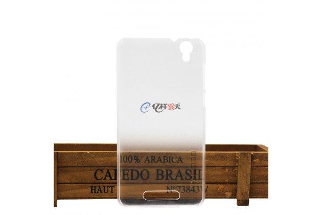 Фирменная задняя панель-крышка-накладка из тончайшего и прочного пластика для CUBOT Manito прозрачная