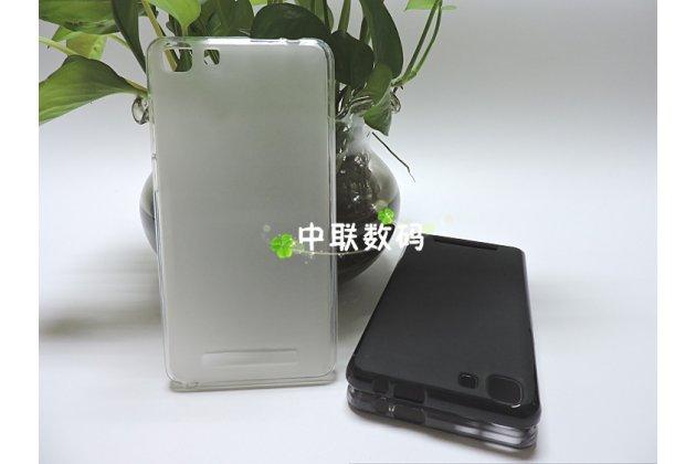Фирменная ультра-тонкая полимерная из мягкого качественного силикона задняя панель-чехол-накладка для CUBOT Rainbow белая