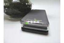 Фирменная ультра-тонкая полимерная из мягкого качественного силикона задняя панель-чехол-накладка для CUBOT Rainbow черная