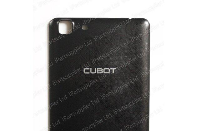 Родная оригинальная задняя крышка-панель которая шла в комплекте для CUBOT Rainbow (Кубот Рейнбоу) чернвя