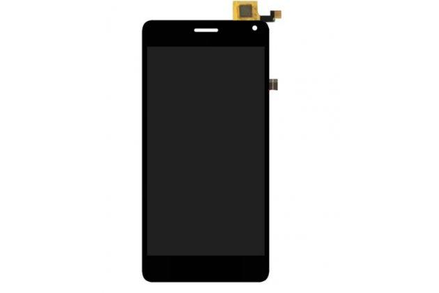 Фирменный LCD-ЖК-сенсорный дисплей-экран-стекло с тачскрином на телефон CUBOT S222 / P12 черный + гарантия
