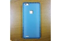 Фирменная ультра-тонкая полимерная из мягкого качественного силикона задняя панель-чехол-накладка для CUBOT S500 голубая