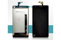 Фирменный LCD-ЖК-сенсорный дисплей-экран-стекло с тачскрином на телефон CUBOT S500 черный + гарантия