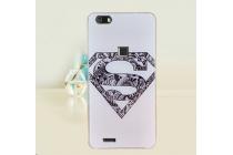 Фирменная роскошная задняя панель-чехол-накладка из мягкого силикона с объемным  3D изображением  на CUBOT S550 c с безумно красивым рисунком  тематика Супермен