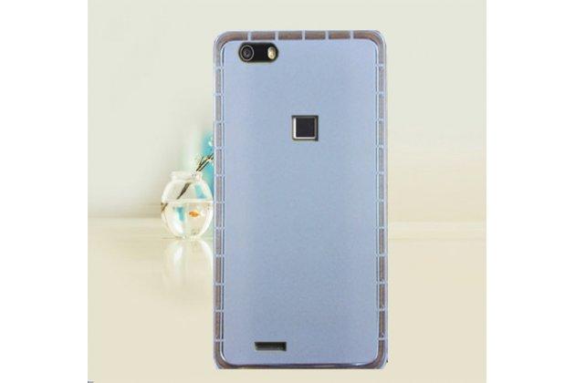 Фирменная ультра-тонкая полимерная из мягкого качественного силикона задняя панель-чехол-накладка для CUBOT S550 белая