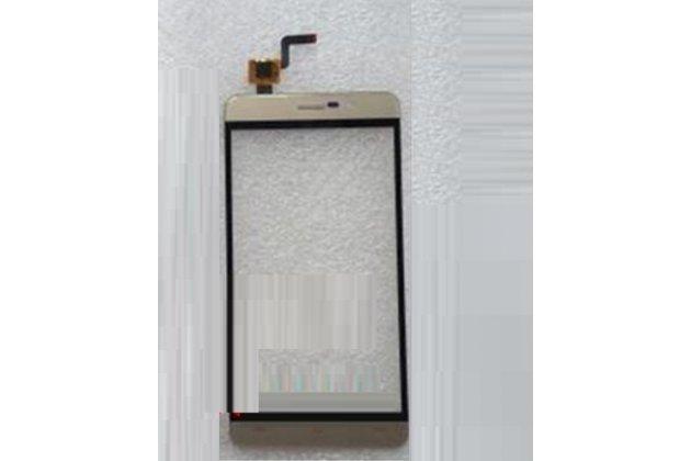 Фирменное сенсорное стекло-тачскрин на  CUBOT Z100 золотой и инструменты для вскрытия + гарантия