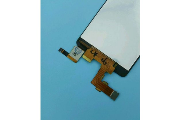Фирменный LCD-ЖК-сенсорный дисплей-экран-стекло с тачскрином на телефон DNS S4501M черный + гарантия