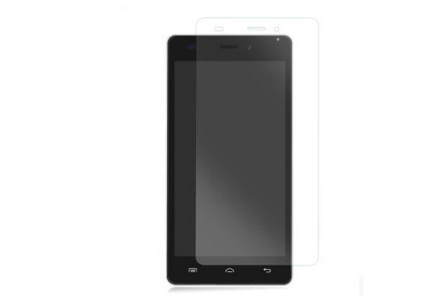 Фирменная оригинальная защитная пленка для телефона Doogee F3/F3 Pro глянцевая