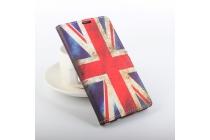 Фирменный уникальный необычный чехол-подставка для DOOGEE Homtom HT6  тематика Британский флаг