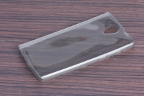 Фирменная ультра-тонкая полимерная из мягкого качественного силикона задняя панель-чехол-накладка для DOOGEE Homtom HT7/ HT7 Pro прозрачная
