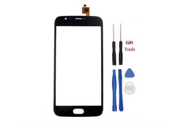 Фирменное сенсорное-стекло-тачскрин на Doogee X9 Mini черный + инструменты для вскрытия + гарантия
