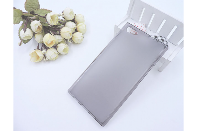 Фирменная ультра-тонкая полимерная из мягкого качественного силикона задняя панель-чехол-накладка для DOOGEE Y300 серая