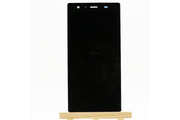 Фирменный LCD-ЖК-сенсорный дисплей-экран-стекло с тачскрином на телефон DOOGEE Y300 черный + гарантия