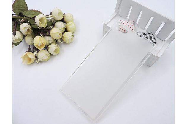 Фирменная ультра-тонкая полимерная из мягкого качественного силикона задняя панель-чехол-накладка для DOOGEE Y300 белая