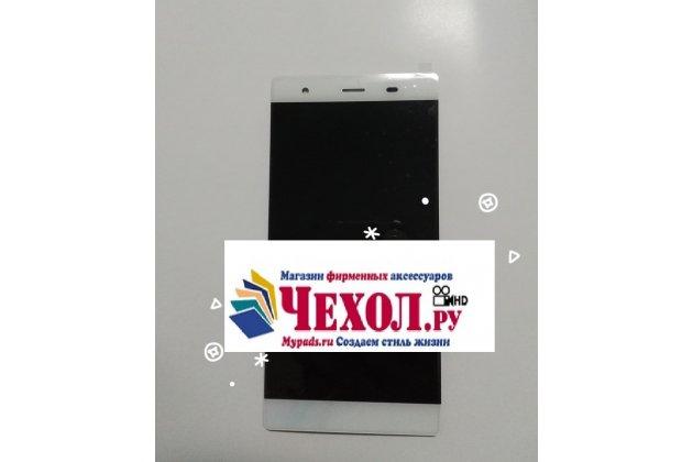 Фирменный LCD-ЖК-сенсорный дисплей-экран-стекло с тачскрином на телефон DOOGEE Y300 белый + гарантия