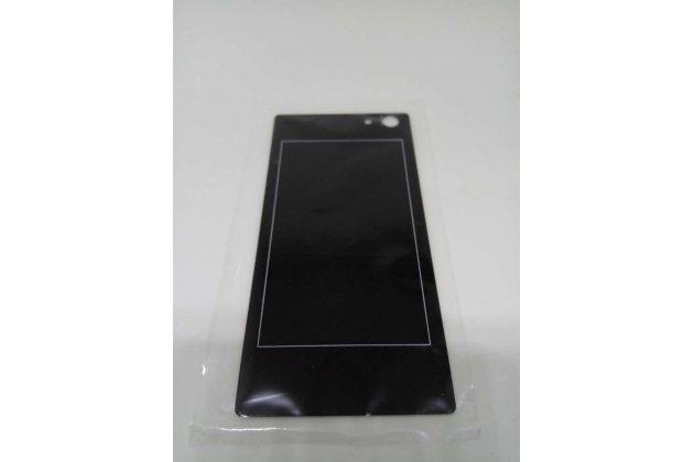 Родная оригинальная задняя крышка-панель которая шла в комплекте для DOOGEE Y300 черная