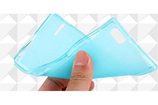 Фирменная ультра-тонкая полимерная из мягкого качественного силикона задняя панель-чехол-накладка для Doogee Y6 череп